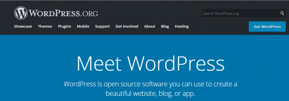 create a blog with wordpress