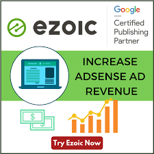 Ezoic- Best alternatives to adsense for blogger