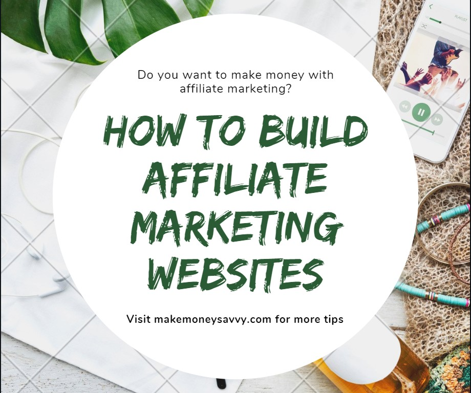 how to build affiliate marketing websites