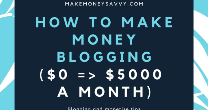 Beginners guide to make money blogging 0=_ $200 a month (1)