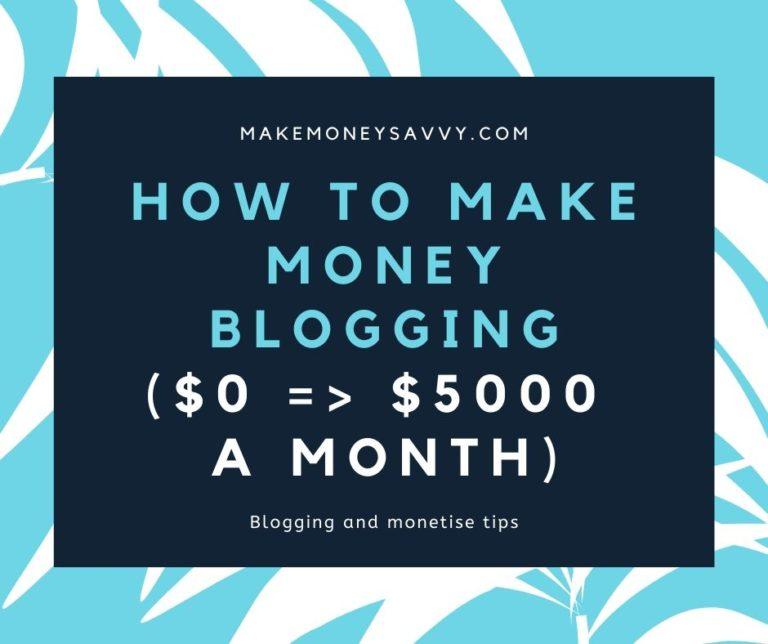 How do bloggers make money [An insider look]