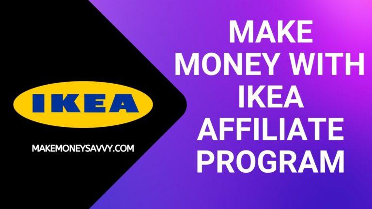 Make money with Ikea affiliate program